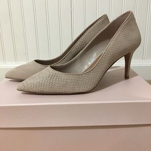 Nude/Light Pink Loeffler Randall heels